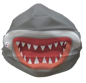 REQUIN FACE 300x290 - Requin Bouche