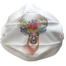 Masque Cerfs Floral Cat.1