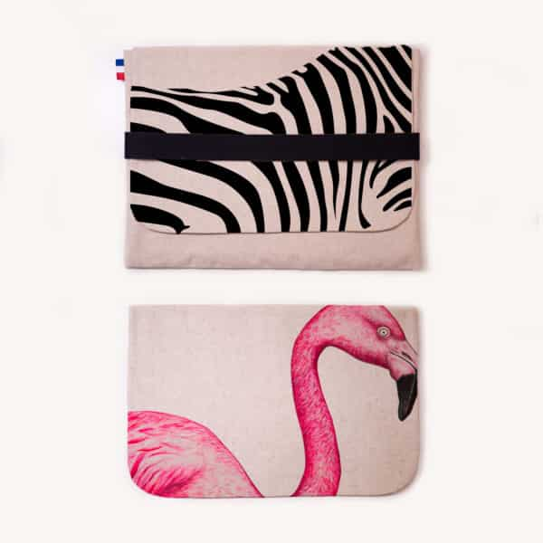 Pochette ordinateur Animal