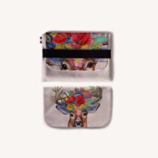 Pochette tablette Ipad Duo Cerfs