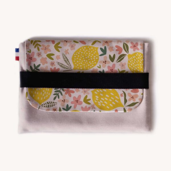 Pochette tablette Ipad Duo Citronier