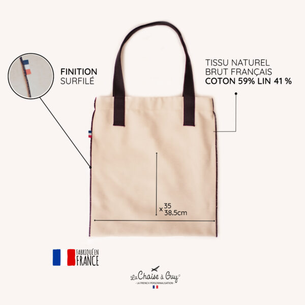 INTRIEUR TOTEBAG 600x600 - Tote Bag tissu Colombes