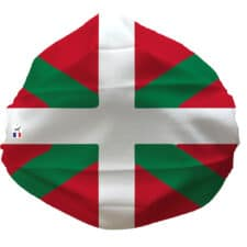 Masque Drapeau Basque Cat.1