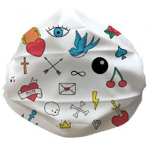 FLASHTATOO face masque 300x290 - Masque Tissu Flash Tatoo
