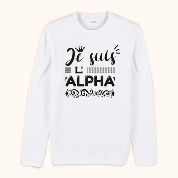 Sweat original homme Alpha