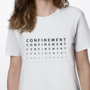 CONFINEMENT CON F 300x300 - T-shirt imprimé Confinement