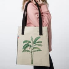 Sac tote bag en tissu Palm Tree