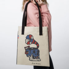 Sac tote bag en tissu Pirate