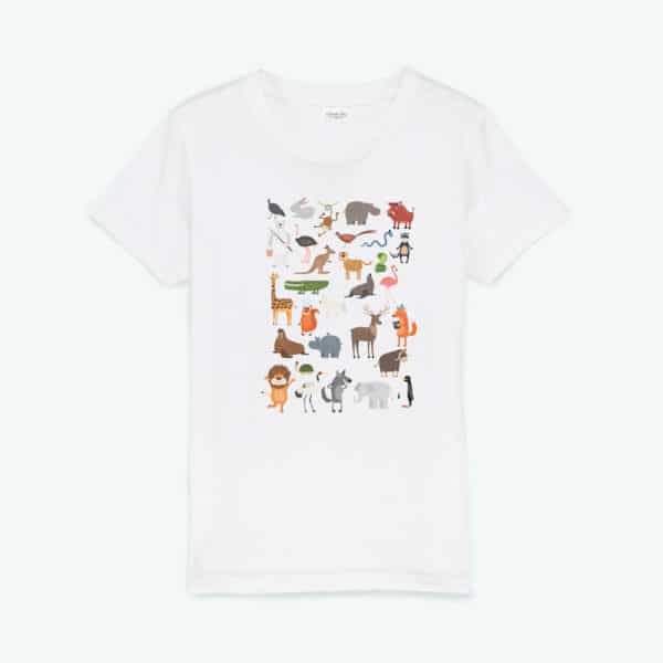 T-shirt enfant original Animaux
