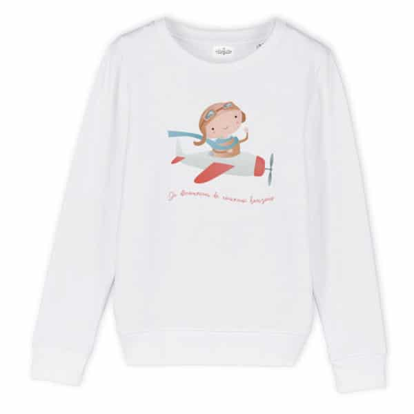 Sweat enfant original Avion
