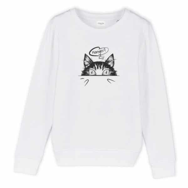 Sweat enfant original Manger