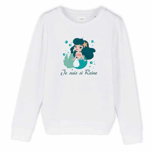 Sweat enfant original Si reine