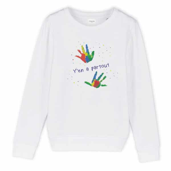 Sweat enfant original Y'en a partout